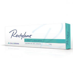 restylane subq with lidcaine